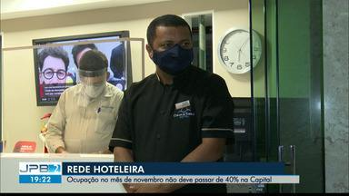 Estimativa é de que ocupação da rede hoteleira de João Pessoa seja de apenas 40% - Mês de novembro deve ser de baixa