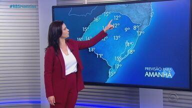Temperaturas devem aumentar no RS à partir deste domingo (22) - Assista ao vídeo.