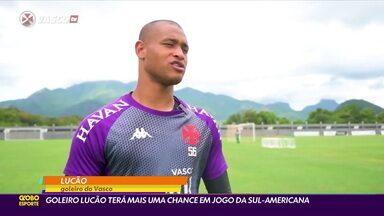 Vasco tem mais um desfalque por Covid, e goleiro Lucão terá nova chance em jogo da Sul-Americana - Vasco tem mais um desfalque por Covid, e goleiro Lucão terá nova chance em jogo da Sul-Americana