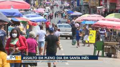 Dupla de assaltantes foi baleada ontem à noite em Pindaré-Mirim - Os dois suspeitos eram de Santa Inês, cidade onde uma sequência de assaltos em pleno dia tem assustado a comunidade.