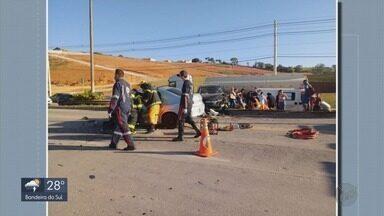 Acidentes deixam morte e feridos no Sul de Minas - Acidentes deixam morte e feridos no Sul de Minas
