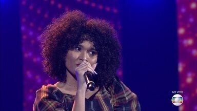 Natasha canta 'Bixinho' na Rodada de Fogo - Confira