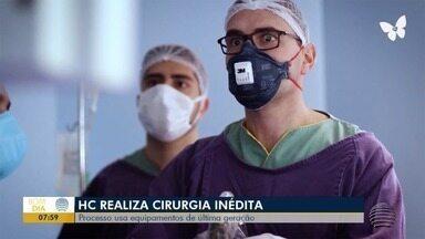 Hospital do Câncer realiza cirurgia inédita em Presidente Prudente - Processo usa equipamentos de última geração.