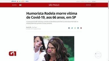 Humorista Rodela morre em São Paulo - Ele foi diagnosticado com a Covid-19 e estava internado em Guarulhos há duas semanas.