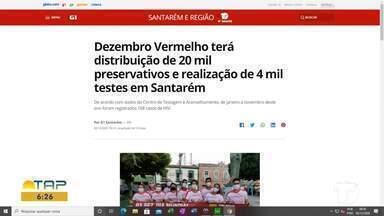 Distribuição de preservativos é destaque no G1 Santarém - Confira as informações acessando o maior portal da região.