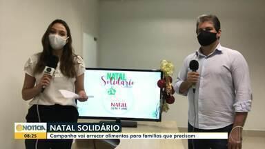 Campanha arrecada alimentos para famílias carentes do Norte de Minas - Campanha reúne igrejas, clubes de serviços e organizações.