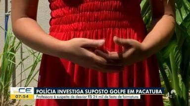 Professora é suspeita de desviar dinheiro de formatura em Pacatuba - Saiba mais em: g1.com.br/ce