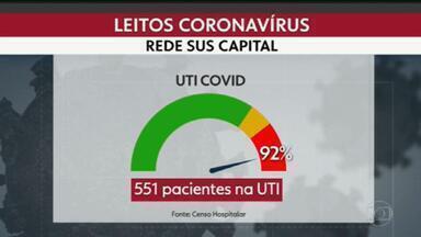 Estado do Rio tem a maior taxa de mortalidade de coronavírus do país - Os dados são da Fiocruz, que alerta para o colapso no sistema de saúde. E recomenda que sejam retomadas algumas medidas de isolamento.