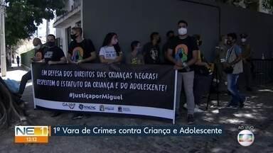 Caso Miguel: primeiras testemunhas são ouvidas em audiência de instrução e julgamento - Sari Corte Real foi denunciada por abandono de incapaz que resultou em morte com agravantes.