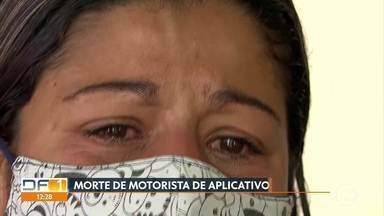 Homem é preso e adolescente apreendido por morte de motorista de aplicativo - O crime foi na madrugada de quarta-feira, em Sobradinho.