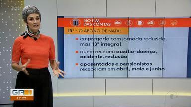 Mônica Carvalho esclarece dúvidas em relação ao pagamento do 13º salário - O pagamento sofreu algumas mudanças com a pandemia.