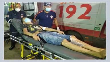Dupla em carro passa atirando e tenta matar adolescente de 17 anos em bairro de Rio Branco - Dupla em carro passa atirando e tenta matar adolescente de 17 anos em bairro de Rio Branco