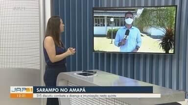 Com baixas taxas de imunização, casos de sarampo elevam no Amapá - Atualmente, são mais de 150 confirmados e 19 em investigação. Cobertura vacinal está abaixo de 50% no estado.