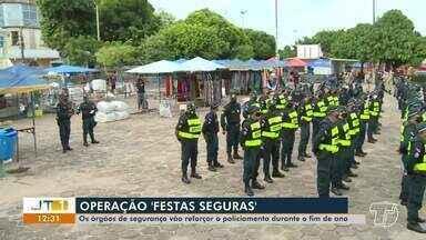 Operação 'Festas Seguras': os órgãos de segurança vão reforçar o policiamento - Ações devem acontecer em todo o Pará.