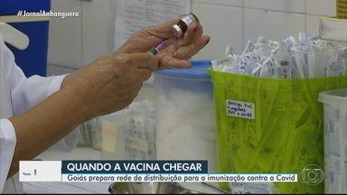 Goiás prepara rede de distribuição para a imunização contra a Covid - Anvisa divulgou regras para as farmacêuticas solicitarem autorização emergencial de uso das vacinas.