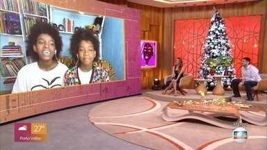 Programa de 04/12/2020 - A apresentadora Fátima Bernardes comanda o programa que mistura comportamento, prestação de serviço, informação, música, entretenimento e muita diversão.
