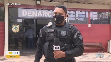Polícia faz ação contra grupos suspeitos de manter 'Central Telefônica do Tráfico' - Ao todo, 39 mandados judiciais são cumpridos em Goiás.