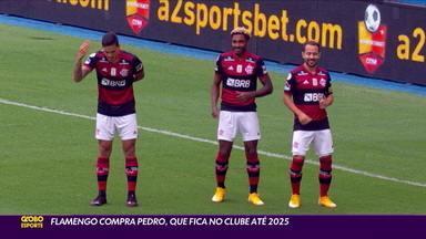 Flamengo compra o atacante Pedro, que fica no clube até 2025 - Flamengo compra o atacante Pedro, que fica no clube até 2025