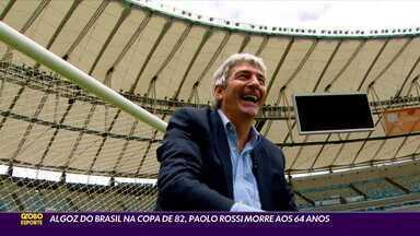 Algoz do Brasil na Copa de 1982, Paolo Rossi morre aos 64 anos - Algoz do Brasil na Copa de 1982, Paolo Rossi morre aos 64 anos