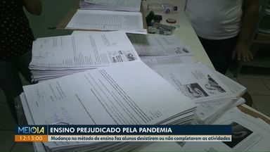 Pandemia do novo coronavírus prejudica ensino de alunos da de colégios estaduais do Paraná - As mudanças no método de ensino faz alunos desistirem ou não completarem as atividades.