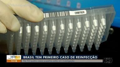 Primeiro caso de reinfecção da Covid-19 é confirmado no Brasil; saiba como se cuidar - Primeiro caso de reinfecção da Covid-19 é confirmado no Brasil; saiba como se cuidar