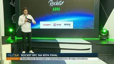 Reality show de inovação e empreendedorismo divulga vencedores - É o Rocket da RPC que está na reta final.