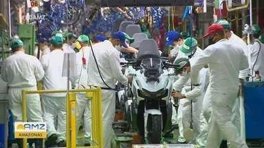 Amazonas sofre queda na produção de motocicletas - Ano de 2020 deve fechar com redução de 15,4%.