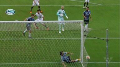 Fora de casa, Santos empata com o Grêmio na Libertadores - Partida foi válida pela ida das quartas de final da competição continental.