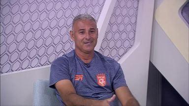 GE na Rede recebe o técnico do Sport Real, Fábio Oliveira, ex-atacante da dupla Re-Pa - GE na Rede recebe o técnico do Sport Real, Fábio Oliveira, ex-atacante da dupla Re-Pa
