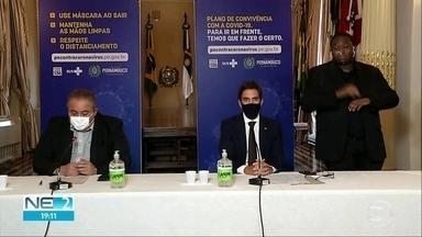 Casos de reinfecção mais que dobram em 15 dias e Pernambuco totaliza 22 ocorrências - Governo anunciou a reabertura de leitos para pacientes com Covid-19.