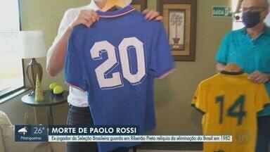 Morre nesta quinta-feira (10) jogador italiano Paolo Rossi - Paolo marcou os três gols que eliminaram o Brasil da Copa de 1992.