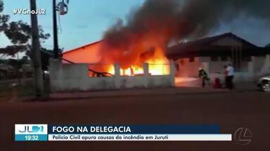 Polícia Civil apura causas de incêndio em Juruti - Polícia Civil apura causas de incêndio em Juruti