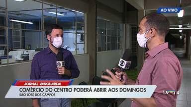 São José dos Campos vai permitir abertura do comércio aos domingos - Confira a entrevista
