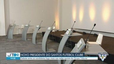 Grupo Tribuna promove debate com candidatos à presidência do Santos Futebol Clube - Debate com candidatos acontece nas redes sociais.