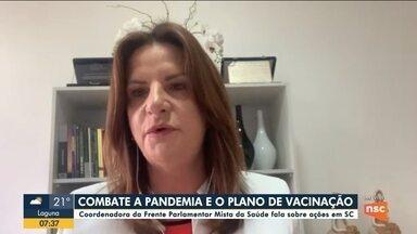 Covid-19: Coordenadora da Frente Parlamentar Mista da Saúde de SC fala sobre vacinação - Covid-19: Coordenadora da Frente Parlamentar Mista da Saúde de SC fala sobre vacinação
