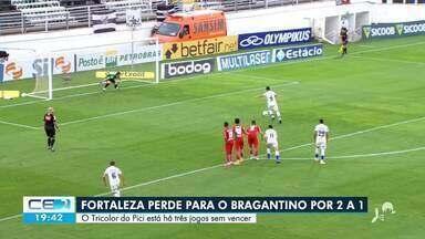Fortaleza perde para o Bragantino por 2 a 1 - Saiba mais no g1.com.br/ce