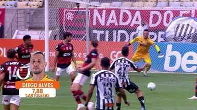 Com contrato renovado com Flamengo, Diego Alves é opção no Cartola - Com contrato renovado com Flamengo, Diego Alves é opção no Cartola