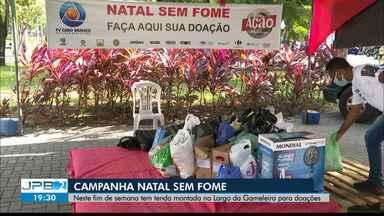 Campanha Natal Sem Fome vai ter postos de arrecadação neste sábado (19) - Saiba os locais de doação.