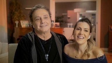 Esposa de Fábio Jr conta que subiu no palco sete vezes antes de começar a namorar o cantor - Maria Fernanda Pascucci relembra sua história com o marido