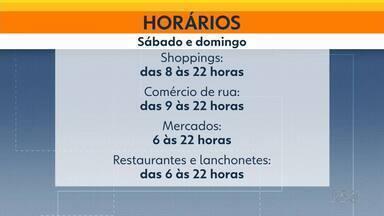 Comércio de Curitiba abrirá neste domingo (20) - Capital continua na bandeia laranja até o dia 8 de janeiro.