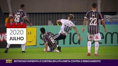 Botafogo tenta interromper retrospectiva negativa contra o Coritiba - Botafogo tenta interromper retrospectiva negativa contra o Coritiba