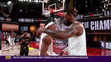 Nova temporada da NBA começa no auge da pandemia nos EUA - Nova temporada da NBA começa no auge da pandemia nos EUA