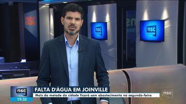 Bairros de Joinville terão abastecimento de água comprometido na próxima segunda (28) - Bairros de Joinville terão abastecimento de água comprometido na próxima segunda (28)