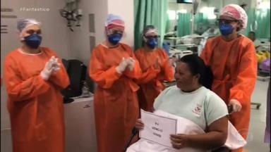 Último Fantástico do ano traz uma salva de palmas para os heróis de 2020 - Em ano de pandemia, brasileiro foi privado de espetáculos, mas aprendeu a aplaudir vizinhos, médicos e curados da Covid-19. Compartilhe este vídeo com amigos e familiares que mereceram o seu aplauso em 2020.