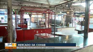 Obra do mercado da Cohab é concluída em São Luís - Próximo passo será a ocupação da estrutura pelos feirantes, que terão um espaço melhor.