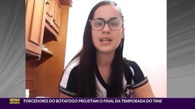 Após despedida de Honda, torcedores do Botafogo projetam final da temporada - Após despedida de Honda, torcedores do Botafogo projetam final da temporada