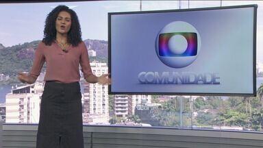 Globo Comunidade RJ - Íntegra de 03/01/2021 - Noticiário que traz assuntos de interesse da comunidade, como qualidade de vida e urbanismo.