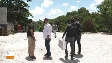 Corpo que pode ser de manicure desaparecida é localizado pelos Bombeiros - Polícia investiga se Dione Nascimento foi jogada no Rio Tejipió.