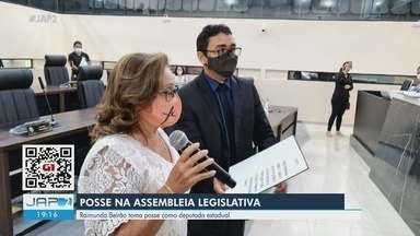 Raimunda Beirão assume vaga na Assembleia Legislativa do Amapá no lugar de Antônio Furlan - Raimunda Beirão assume vaga na Assembleia Legislativa do Amapá no lugar de Antônio Furlan