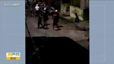 Homens são vítimas de agressões após clássico entre Paysandu e Remo em Belém - Homens são vítimas de agressões após clássico entre Paysandu e Remo em Belém